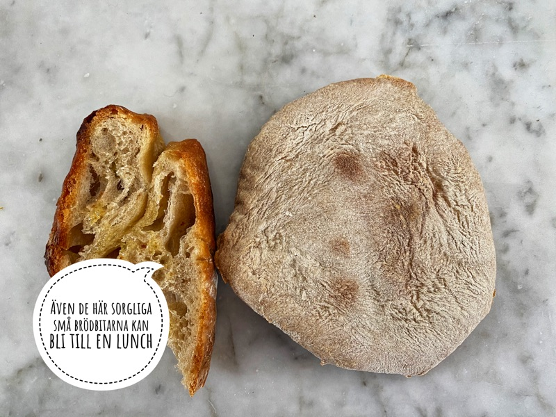 Torrt bröd